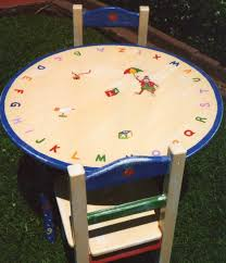 painted kids furniture. Full Size Of Furniture:97 Incredible Kids Painted Furniture Picture Ideas Alphabet Table And Chair