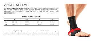 Powerlix Compression Knee Sleeve Sizing Chart Womens Compression Sizing Charts Tommie Copper