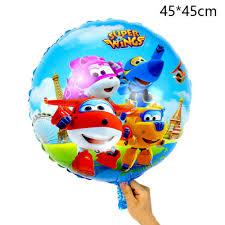 Home & Garden <b>13Pcs</b>/Set 3D Super Wings Foil Balloons Birthday ...