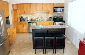 diy kitchen cabinet painting10 DIY Kitchen Cabinet Makeovers  Before  After Photos That
