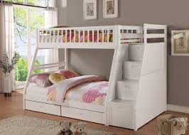 white bunk bed with stairs. Bunk Bed With Stairs And Dresser Twin Over Full  Desk Size Loft Steps White Bunk Bed With Stairs I