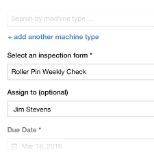 Inspection Form Build An Inspection Form Weever Apps