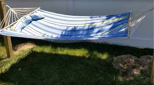 DIY Hanging a Hammock without any trees! - YouTube