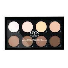 nyx makeup artist kit highlight contour pro palette