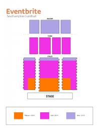 Secc Seating Chart Fine The Brilliant And Beautiful Southampton Guildhall