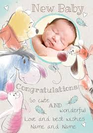 Congratulate On New Baby Baby Congratulations Cards Make It Special Funky Pigeon