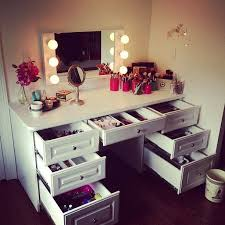 lighting for vanity makeup table. White Dressing Table Lighting For Vanity Makeup H