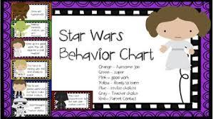Star Wars Behavior Chart Star Wars Behavior Chart