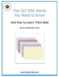 357 Free Gre Flash Cards Vocabulary You Must Know Prepscholar Gre