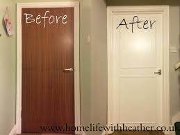 how to add panels and paint hollow core internal doors great idea for our cottage interior doors