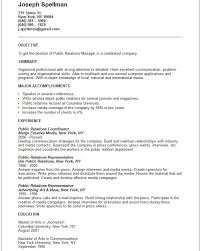 sample public relations resume 28 detail public relations resume gc a74616 resume samples