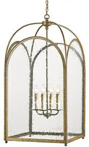 currey company loggia iron glass lantern chandelier by currey company