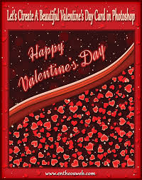 Hearts Valentine's Day Card Tutorial In Photoshop | Entheos