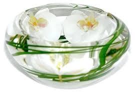 glass decorative bowls glass flower bowl white small decorative glass bowls australia