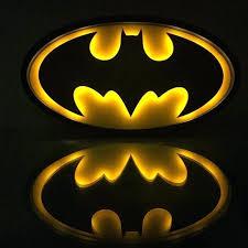 batman night light gift for men idea heroes decor sign 3d wall australia full size