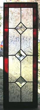 faux stained glass window panels how to windows and doors look like the real panel red faux stained glass window panels