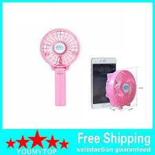 electric hand fan. summer cooler cooling fan adjustable hand held electric air rechargeable portable handle folding usb mini