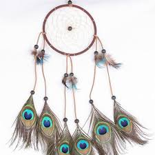 Dream CatchersCom Beauteous Peacock Feather Dream Catcher Project Yourself