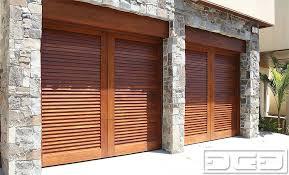 dynamic garage doorsMid Century 05 Custom Architectural Garage Door  Dynamic Garage Door