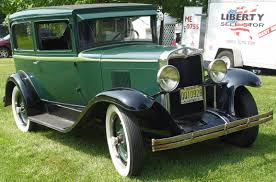 1929 Chevrolet - Green - Front Angle