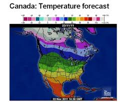 Weather Color Chart Temperature Maps Scsjournal