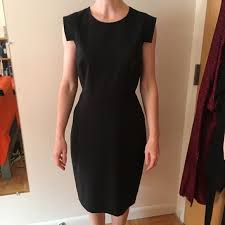 J Crew Dresses Jcrew Resume Dress In Stretch Wool Black Size 40 Enchanting J Crew Resume Dress