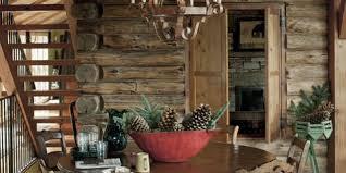 Log cabin interiors designs Modular Log Cabin Living Room Country Living Magazine Log Cabin House Tour Decorating Ideas For Log Cabins