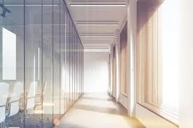 office corridor door glass. Download Front View Of Office Corridor, Glass, Toned Stock Illustration - Mockup Corridor Door Glass N