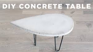 awesome diy concrete coffee table d i y side you top reddit maker and wood