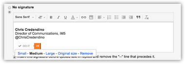Adding A Hyperlinked Image To Your Gmail Signature Chris