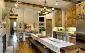 rustic kitchen chandelier modern
