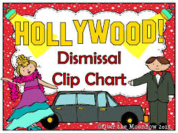 How We Get Home Chart How We Go Home Dismissal Clip Chart Lets Hear It For Hollywood