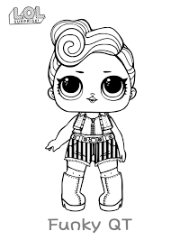 Lol Surprise Dolls Coloring Pages Print Them For Free All The