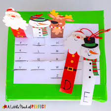 christmas free template christmas letter match and fine motor skills activity and free