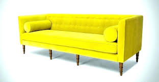 yellow leather sofa living room yellow leather