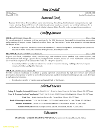 Chef Resume Sample Free Download Cook Resume Skills Art Examples