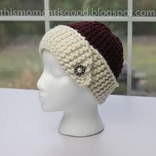 Loom Knitting Hat Patterns Best Loom Knit Cloche Hat PATTERN 48's Style Loom Knit Hat Pattern