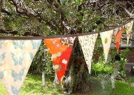 garden banners. Giggleberry Bunting Garden Decor Party Banners -