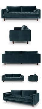 Blue Sofa Best 25 Blue Sofas Ideas On Pinterest Sofa Velvet Sofa And