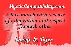 Sheep Tiger Compatibility Mystic Compatibility