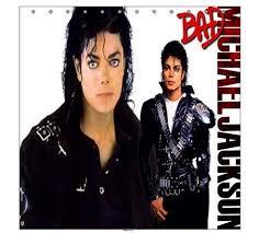 New MJ Michael Jackson Bad Shower Curtain Bathroom Gift on PopScreen