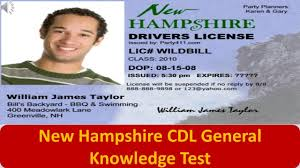Youtube Test General Hampshire - Knowledge Cdl New