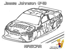 Printable drawings and coloring pages. Full Force Race Car Coloring Pages Free Nascar Sports Car
