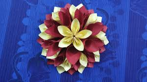 Paper Flower Decor Paper Flower Decoration Ideas How To Learn Diy Quick And Easiest Way