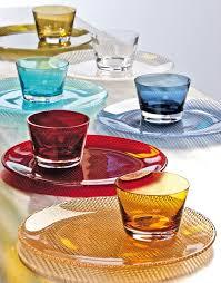 villeroy boch colored glassware