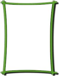Bold Frame Green Page_frames Simple_ornamental Bold_frame