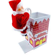 <b>Santa</b> Claus toys <b>electric stair climbing</b> chimney <b>Christmas</b> decoration