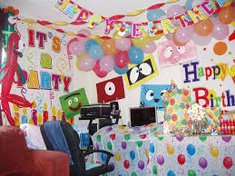 home design how to decorate a birthday room decoration of