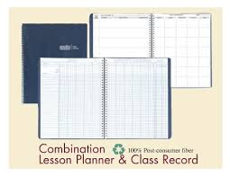 Class Planer House Of Doolittle Recycled Class Record Lesson Planner Book