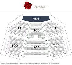 Borgata Venue Seating Chart The Music Box Concert Venue Borgata Hotel Casino Spa